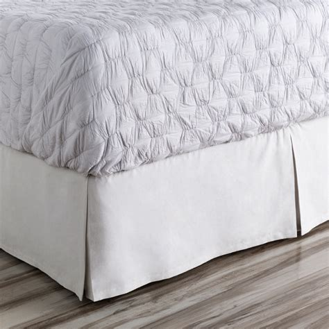 gray bed skirt anniston light gray bed skirt by surya rosenberryrooms com