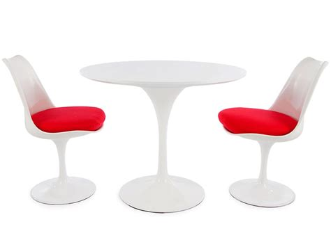 Tulip Table And Chairs by Tulip Table Saarinen And 2 Chairs