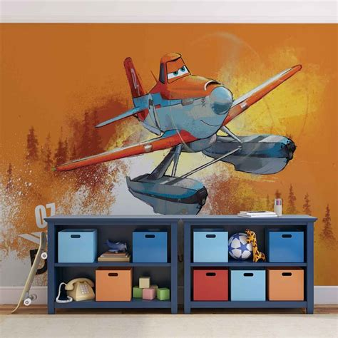 disney planes wall mural disney planes dusty crophopper wall paper mural buy at europosters