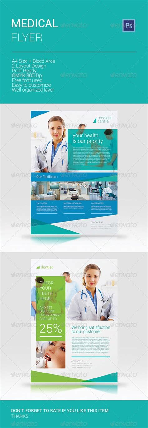 40 Best Top Pharmacy Brochure Designs Images On Pinterest Brochures Flyer Design And Brochure Health Flyer Template