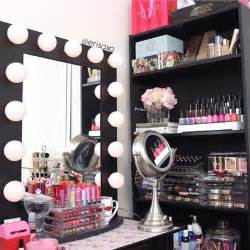 Bedroom Vanity Organization Ideas Makeup Vanity Organization On Makeup Vanities