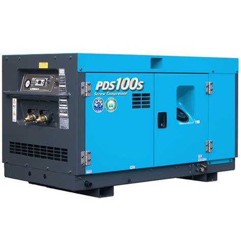 100cfm airman portable diesel compressor pds100s 5c1 caps shop