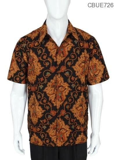 Kemeja Batik Baturaden M kemeja pendek batik baturaden motif cokro wayang kemeja