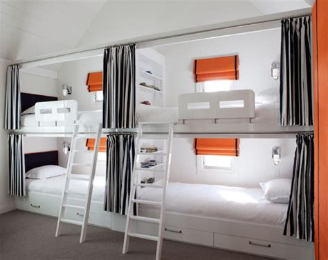 Bunk Bed Rooms Tips For Squeezing In More Guest Beds