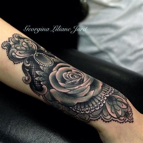 elegant rose tattoo 52 wrist tattoos