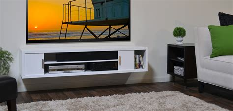 tv display ideas floating media console great console a way to display your