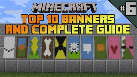 Custom The Best Picture 2 minecraft top 10 banner designs ep 6 with tutorial