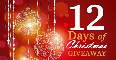 12 Days Of Christmas Sweepstakes - 12 days of christmas giveaway