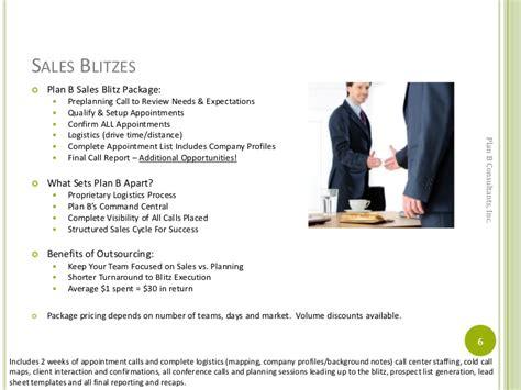 plan b consultants services menu