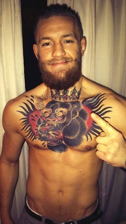 mcgregor mma tattoo conor mcgregor gets some new ink mixed martial arts news