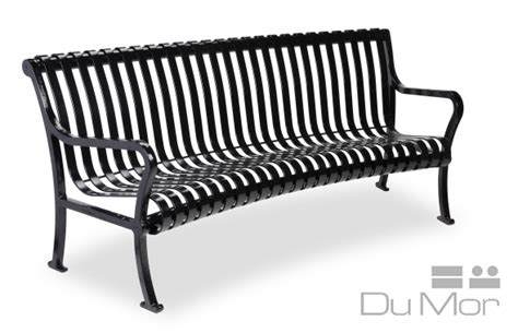 dumor bench curved bench ri93 dumor site furnishings