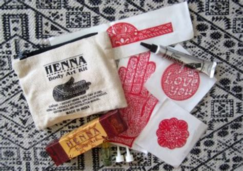 henna tattoo kits australia henna kit boheme