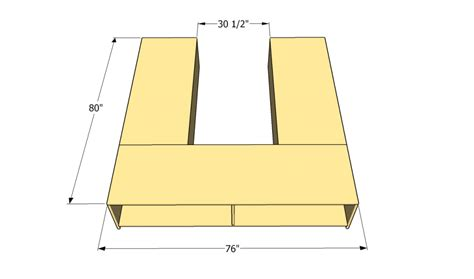 how to build a storage bed frame howtospecialist how