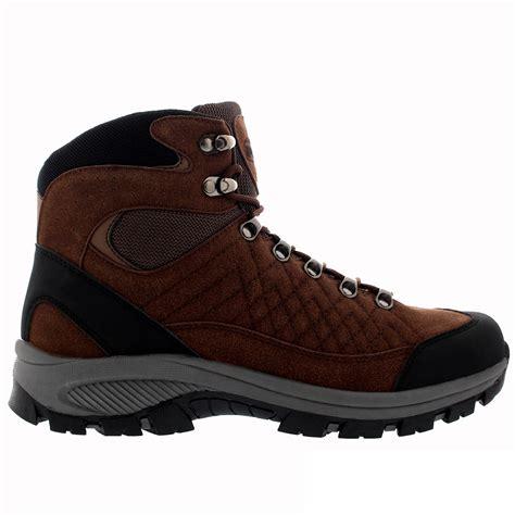 mens outdoor boots mens rambling explorer hiking walking waterproof winter