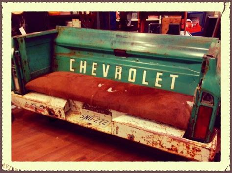 truck bed couch chevy truck bench at hinge valley junction west des moines