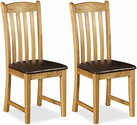 oak dining room chairs buy global home salisbury oak dining chair with faux