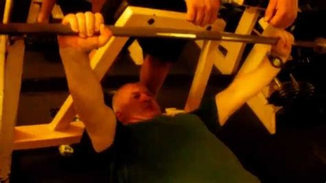 bench press 115 bench press 115 kg x 4 reps 49y o my weight 90 8 kg 115 kg 255 lbs youtube