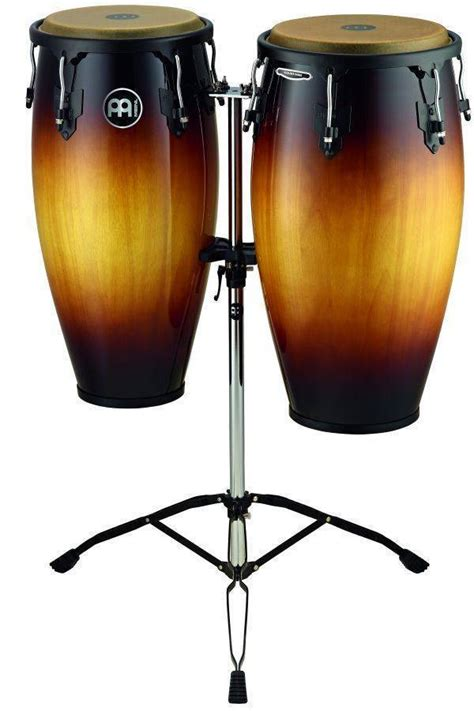 Meinl Headliner Series Conga Sets Maple meinl headliner wood congas 11 12 inch with stand vintage sunburst mcquade musical