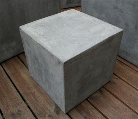 beton cube tabouret cube b 233 ton cir 233 gris fonc 233 tabouret design