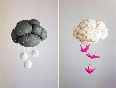 Mobile Handmade - diy cloud mobile handmade