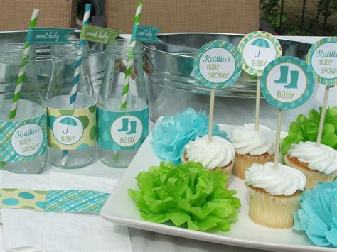baby shower decorations blue and green baby shower decorations best baby decoration