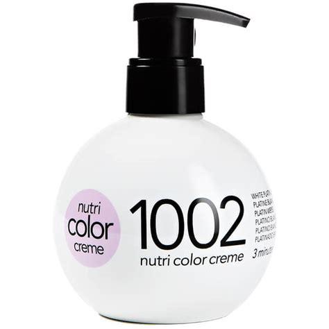 revlon nutri color creme revlon professional nutri color creme 1002 white platinum