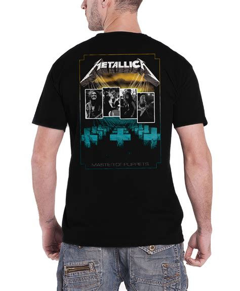 T Shirt Metalica 2 metallica t shirt hardwired justice for all rtl band logo