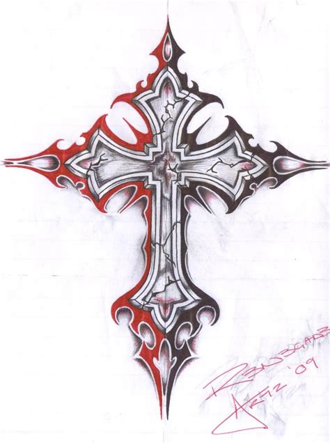 medieval cross tattoo cross by insomnosis on deviantart