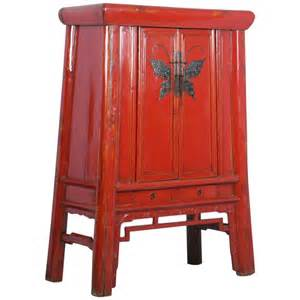 antique lacquered cabinet armoire with ornate