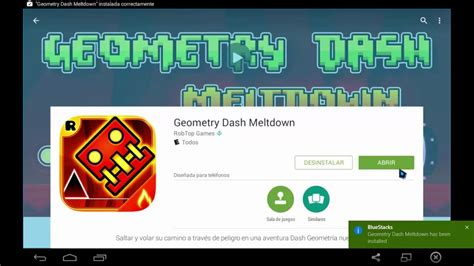 descargar geometry dash full apk ultima version pc descargar geometry dash meltdown para pc y android