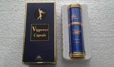 Obat Kuat Vig Power vig power capsule kuat tahan lama