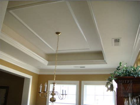 ceiling crown molding in kitchen 15 tray ceiling with
