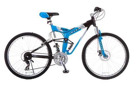 All About Bicycle 21 titan s glacier pro alloy dual suspension all terrain