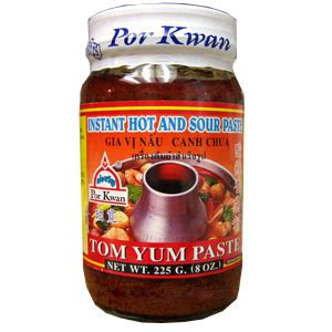 tom yum paste por kwan brand available online at templeofthai com 187 temple of thai