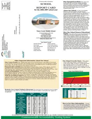 Fcps Report Card Template by Fcps Report Card Template Fill Printable