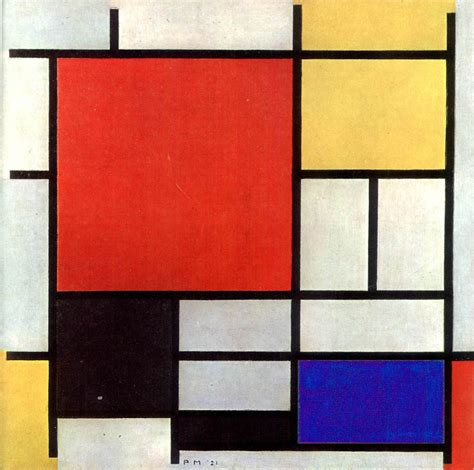 Piet Mondrian ? Line over Form   Lisa Thatcher