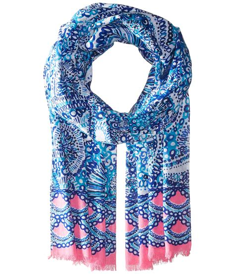 lilly pulitzer resort scarf zappos free shipping