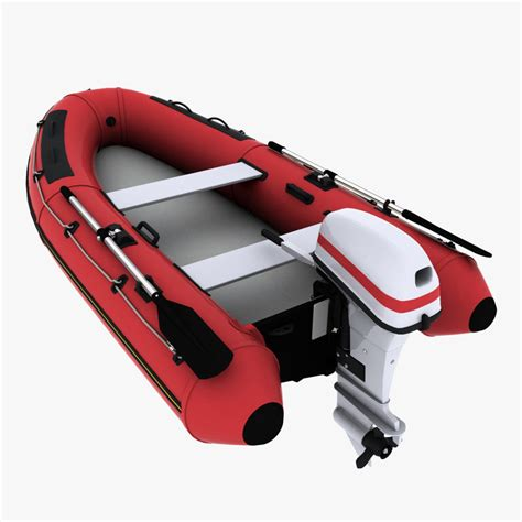 inflatable boat outboard 3d inflatable boat outboard motor
