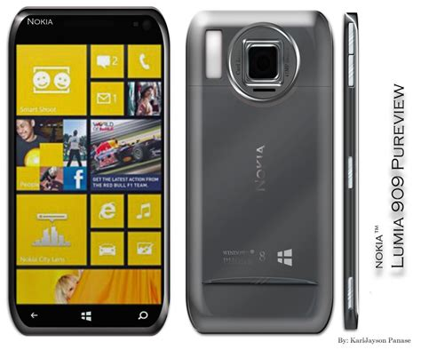 Nokia Lumia Pureview nokia lumia 909 pureview concept phones