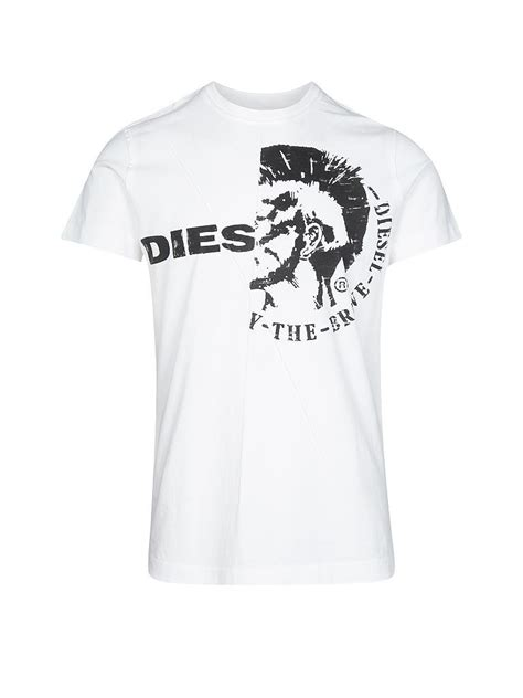 Diesel T Shirt 1 diesel t shirt wei 223 s