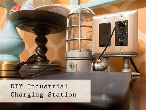 diy usb charging station diy industrial usb charging station pretty handy girl