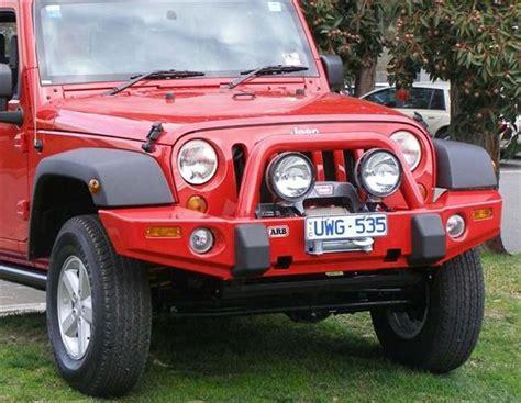 Arb Bumper Jeep Okoffroad Armor Arb Jeep Jk Bumper
