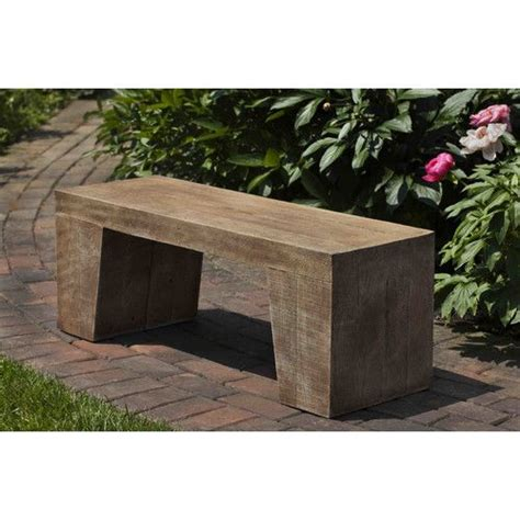 stone top benches 25 best ideas about stone garden bench on pinterest