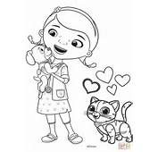 Doc Mcstuffins Free Coloring Pages  Kids Collection