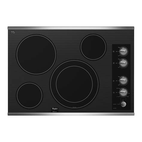 whirlpool gold 36 electric cooktop whirlpool gold g7ce3034xs g7ce3034xs 30 quot electric