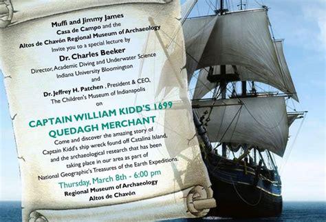 barco pirata kidd descubra la asombrosa historia del naufragio del barco