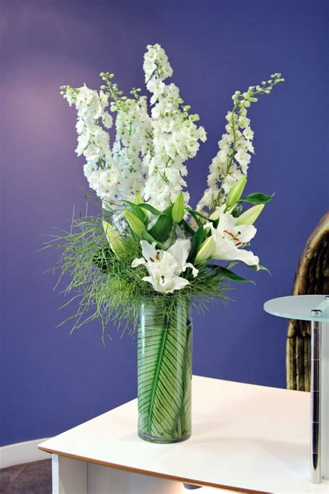 Flowers Delivered With Vase by Wedding Flowers