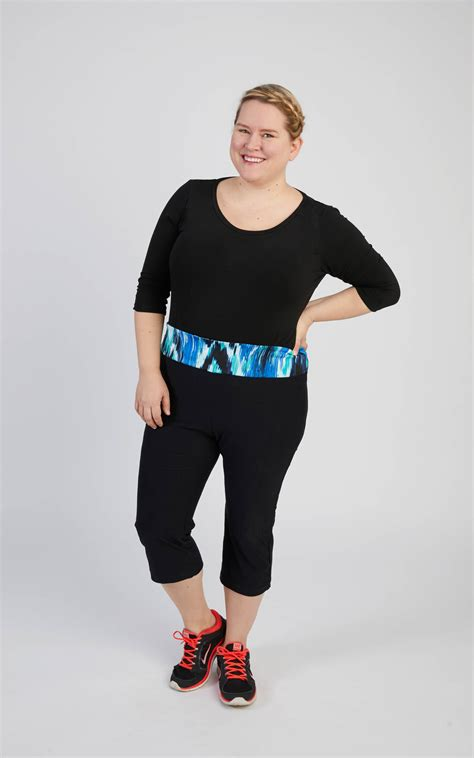 patterned yoga pants plus size introducing our curvy plus size activewear sewing patterns