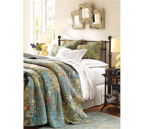 neena patchwork quilt sham pottery barn