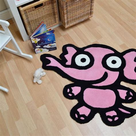 Elephant Rug Pink by Kiddy Elephant Rugs In Pink Free Uk Delivery The Rug